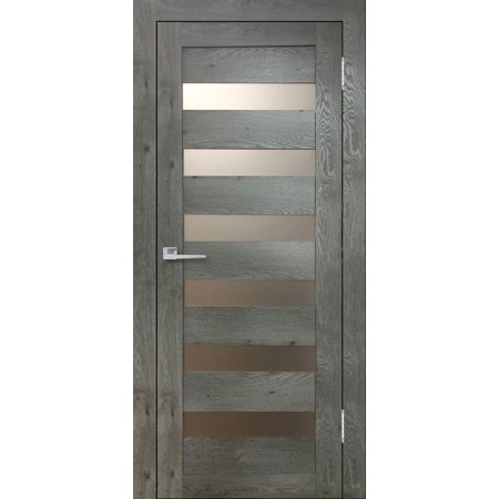 Дверь Бавария 03 3D Люкс остекленная