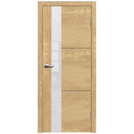 Дверь Лестер 2 остекленная