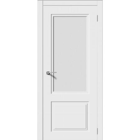 Дверь Квадро 2 остекленная