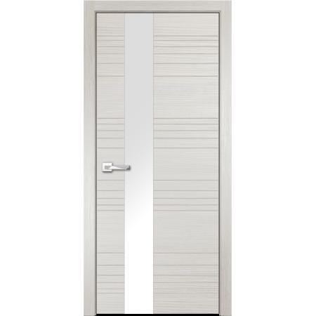 Дверь Новелла стекло белое