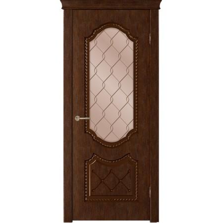 Дверь Флер остекленная
